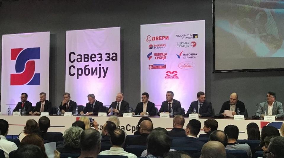 Potpisnici Sporazuma sa narodom: Sednica o Kosovu rijaliti seansa i glumatanje Vučića
