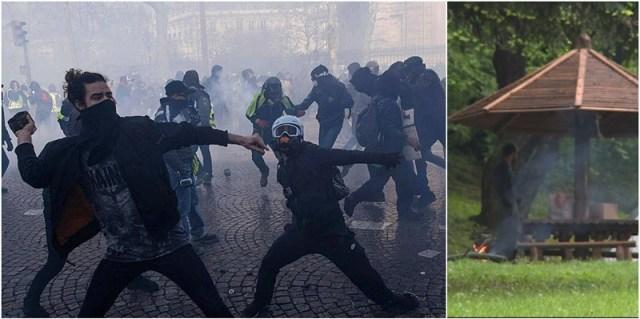 1. maj u Parizu: 165 uhapšenih; 1. maj u Beogradu: Kiša pokvarila krakanluk