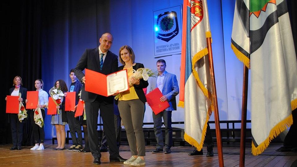 """Vanja Đurđević dobitnik """"Majske nagrade"""" opštine Negotin"""