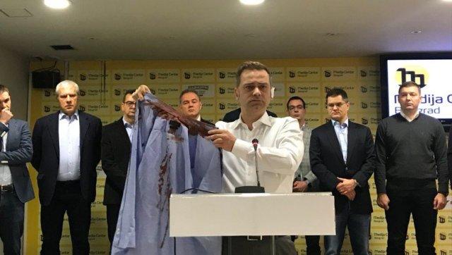 Odloženo pripremno ročište za napad na Borka Stefanovića i ostale u Kruševcu: optuženi otkazali punomoćje advokatima