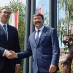 Vučić i Ader otkrili spomenik Janku Sibinjaninu
