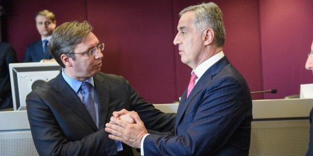 Rđavi odnosi Podgorice i Beograda, Vučić i Đukanović kao braća