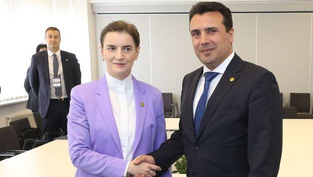 Brnabić u ponedeljak sa Zaevim: Otvaraju integrisani prelaz između Srbije i Severne Makedonije