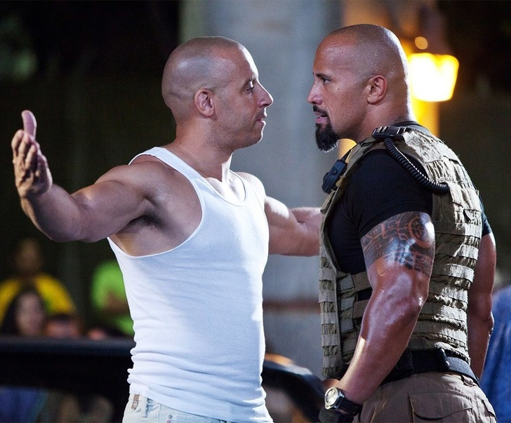 Dwayne Johnson Dhe Vin Diesel