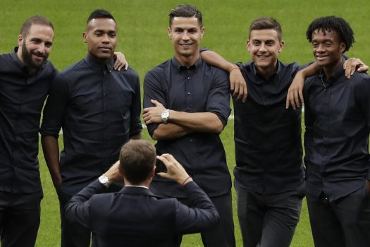 Ronaldo Champions League Team Main Art