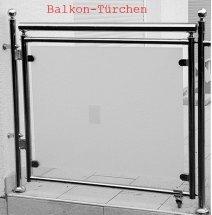 Balkon-Türchen