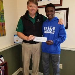 Boys and Girls Club Receive Check