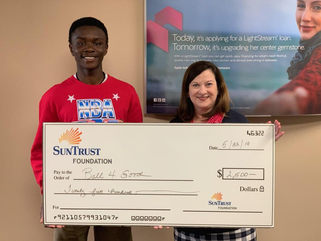 Ball4Good Receives Grant from SunTrust