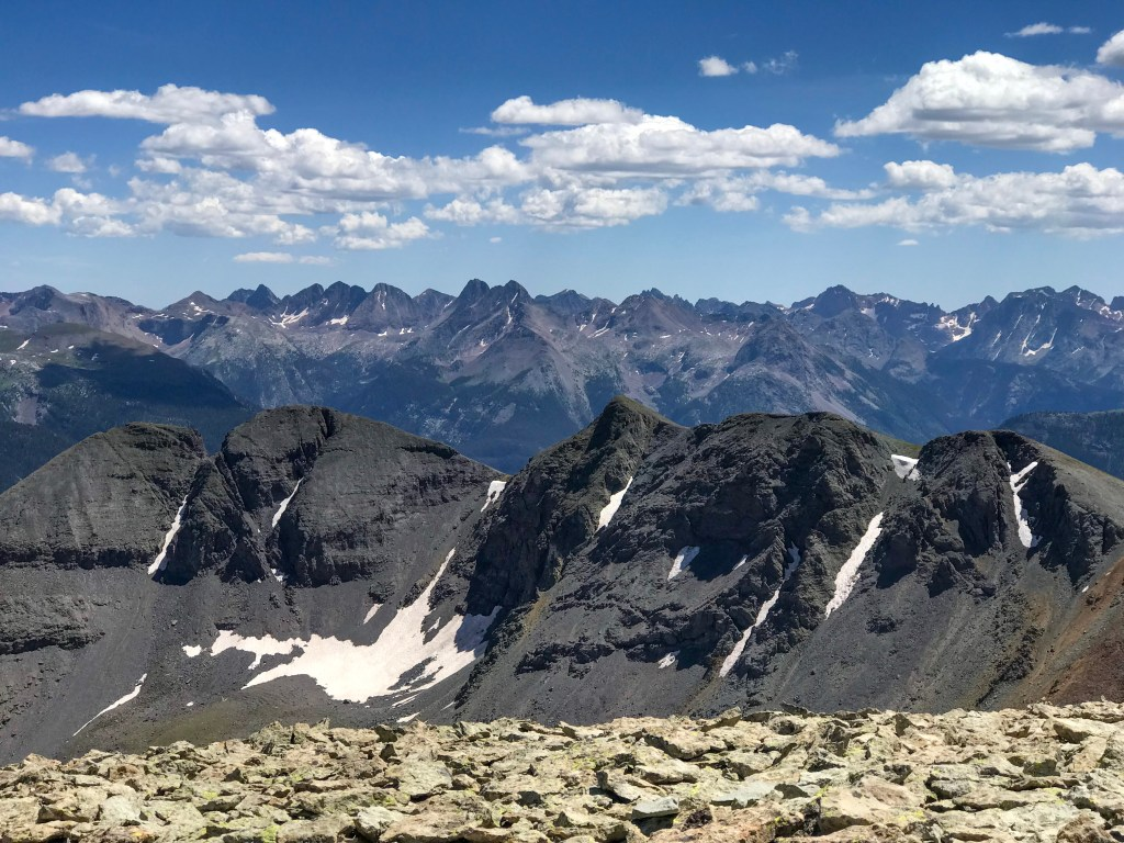 sultan mountain summit colorado
