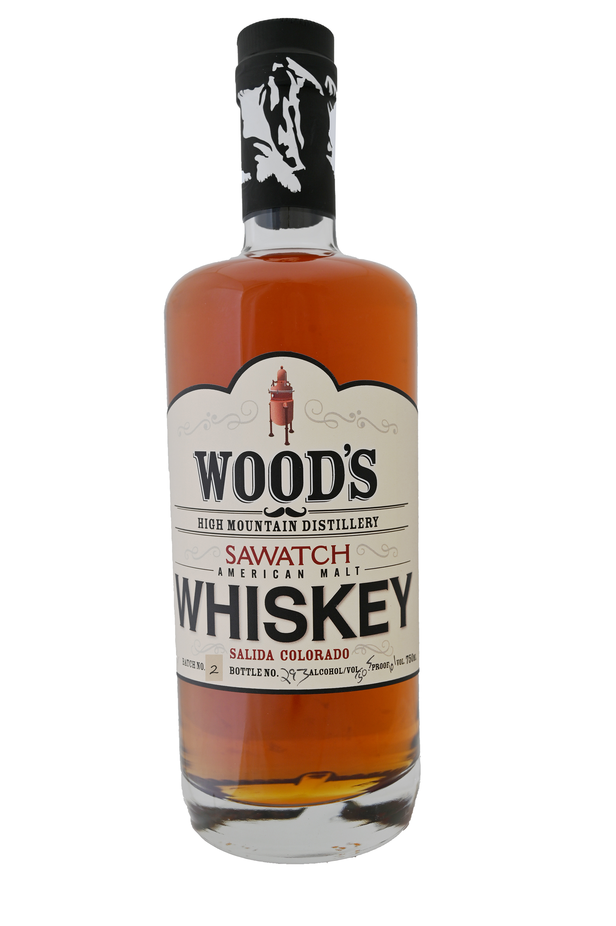 Wood's High Mountain Distillery Sawatch Whiskey