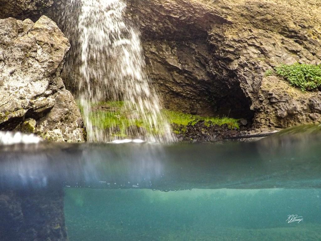 waterfall rainbow hot springs weminuche wilderness