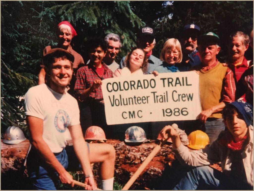 gudy gaskill colorado volunteer trail crew 1986