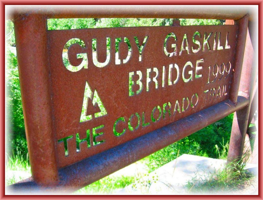 gudy gaskill bridge colorado trail