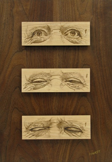 My Awakening by: George Hurst - Wood and Pyrography