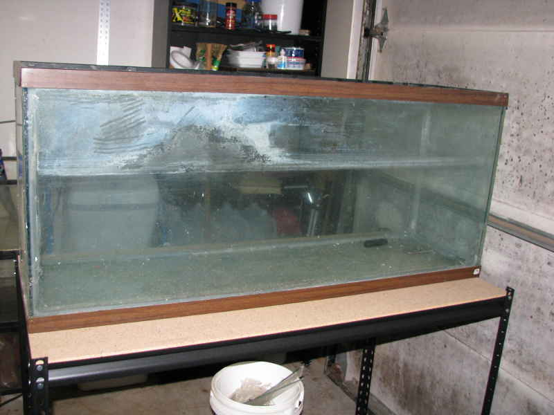 New old tanks ball aquatics for How to reseal a fish tank
