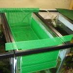 Egg scatter breeder basket