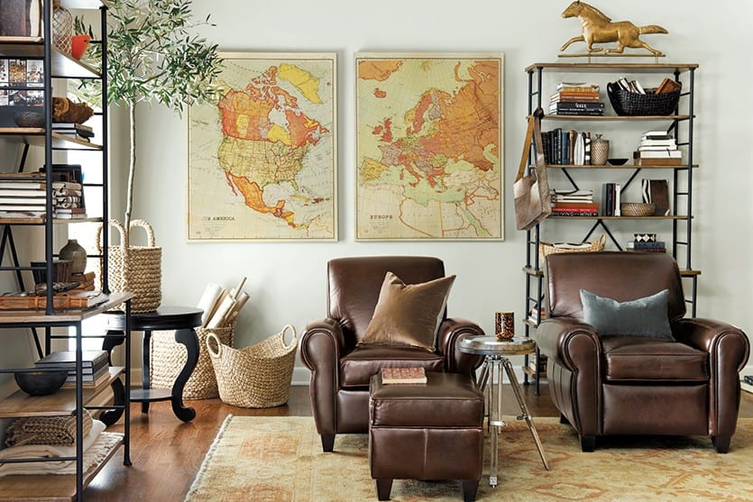 Decorating with Leather Furniture   How To Decorate How to Decorate with Leather