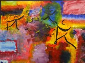 Ballard School Year 6 Kandinsky workshop