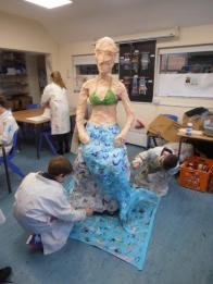 Steve Porter Artwork - mermaid of the seas