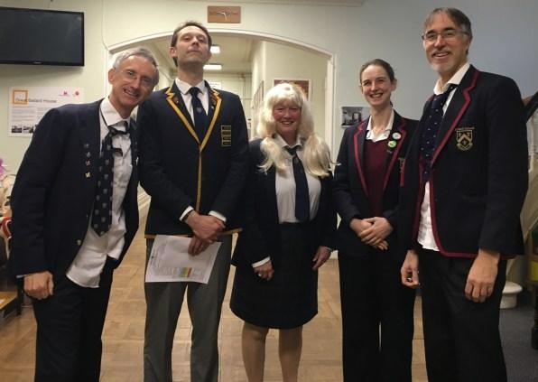 Teachers dressing like the pupils!