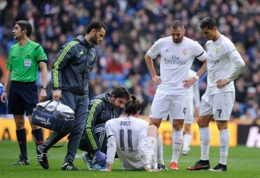 Gareth Bale e il suo polpaccio