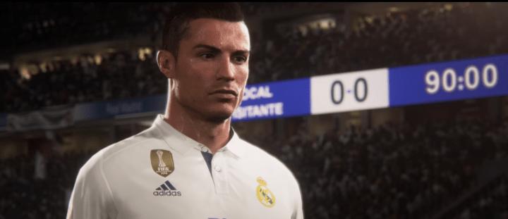 CR7 cover star di FIFA18