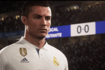 CR7 cover star di FIFA18