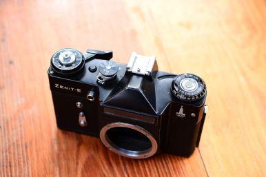 1กล้อง Zenit E สีดำ ballcamerashop (2)