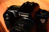 Canon 1000s with lens 35 - 70mm (2)