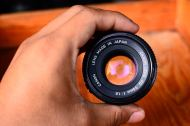 Canon FD 50mm 1.8 For Micro Four Third (Olympus OM,EP Panasonic G,GF,GX,GH) ballcamerashop (3)