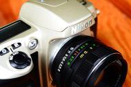 กล้องฟิล์ม Nikon F60 พร้อมเลนส์มือหนุน Helios 44M-4 สภาพสวย (4)