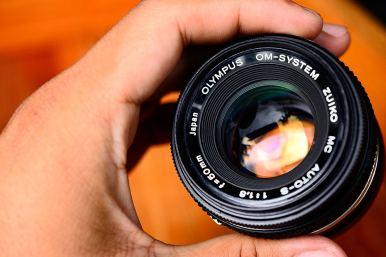 olympus om 50mm F1.8 For Olympus Mirrorless Micro Four Third ballcamerashop (9)