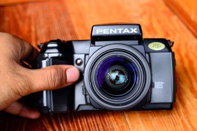 pentax SFX พร้อมเลนส์ 35 - 70mm (1)