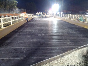 Job 185 - Bradley Moody Underpass - 21- Protective Layer Complete