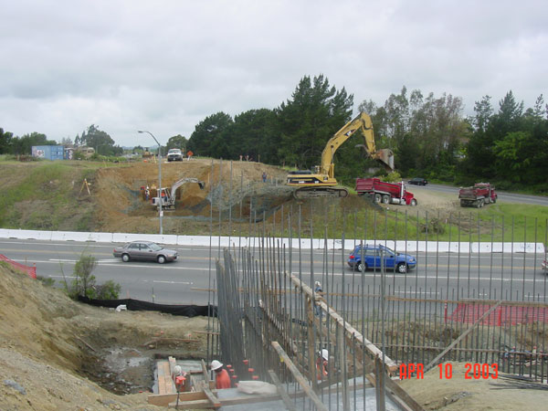 Job 92 – Hwy 12/Farmers Lane Post Tensioned Bridge
