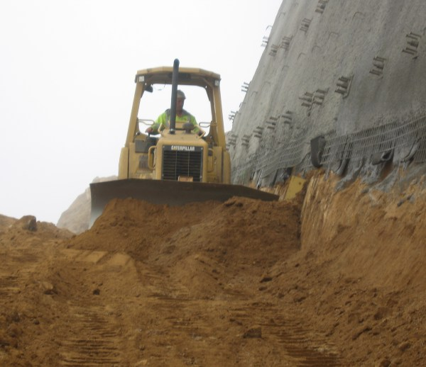 Job 118 - Devil's Slide Earthwork and Retaining Wall