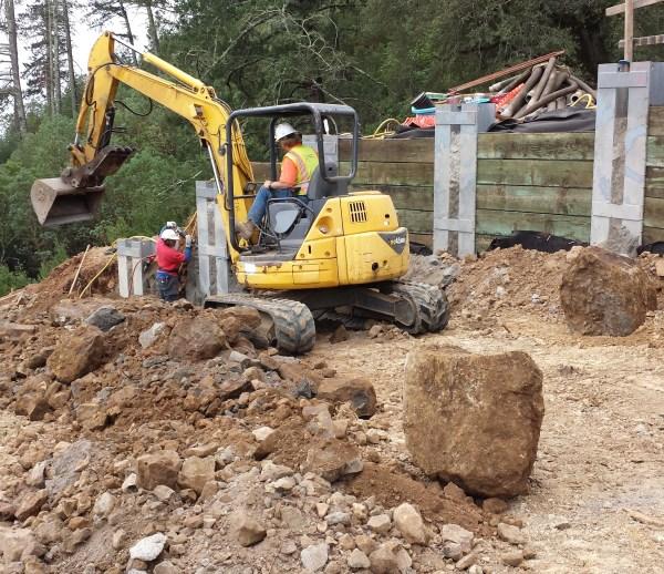 Job 180 - Hwy 29 Calistoga Retaining Walls