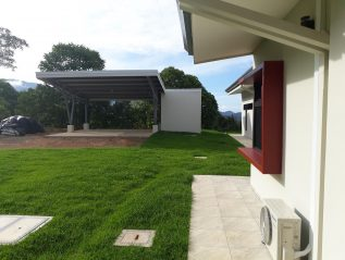 Wander House completed 8 carport