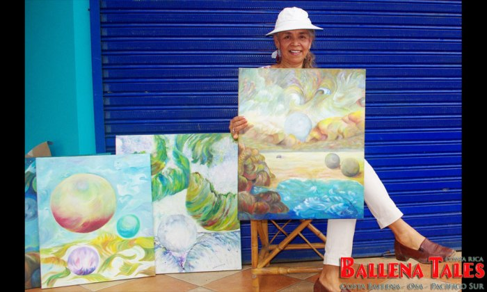 Hannya Buentemeyer, Local Events Art & Music in Costa Ballena, Osa, South Pacific Costa Rica - Photo by Dagmar