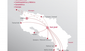 Sansa Regional Travel Destinations in Costa Rica
