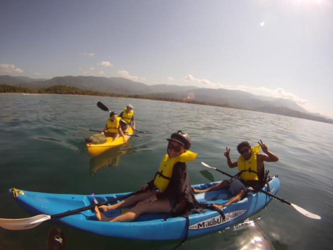 kayak marino ballena south pacific costa rica Tours