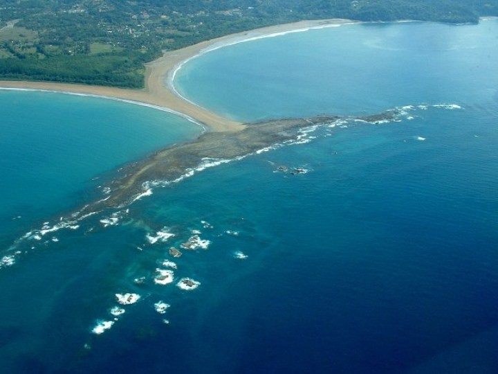 Whale´s Tail, Marino Ballena National Park