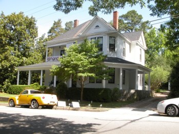 Front view of Ballentine Spence House