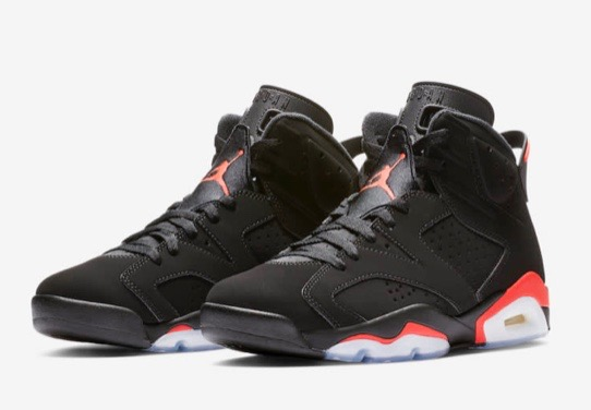 9b149fab23b3 Ballerific Kicks  Nike Air Jordan 6  Infrared  Returns With OG-Style Nike  Air Branding