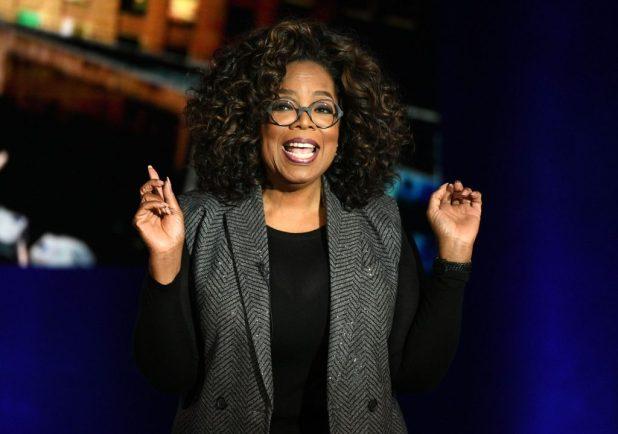 Oprah Winfrey Gives Back