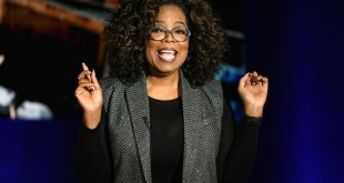 Oprah Winfrey talks Statue Of Liberty
