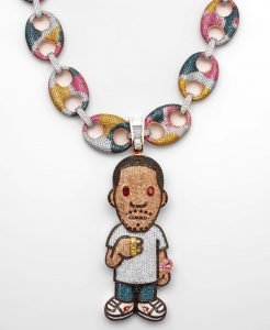 Kid Cudi BAPE Chain