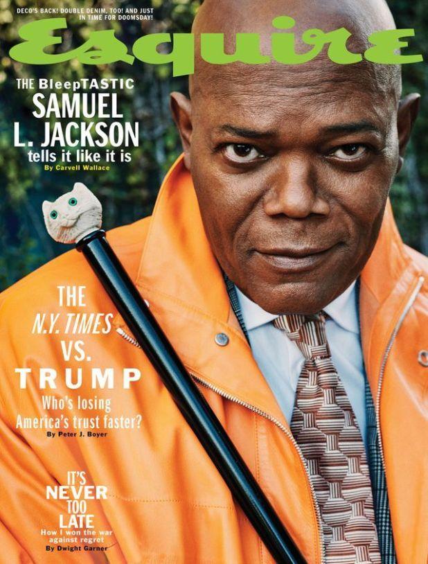 Samuel Jackson Talks Trump