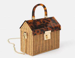 Zara Raffia City Bag