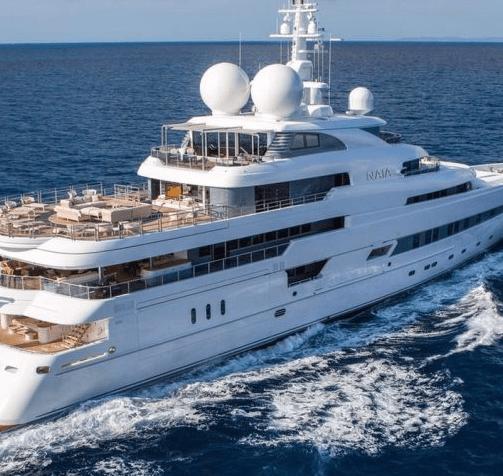 Dre Dre's Super Yacht